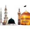 دانلود رایگان گنبد امام رضا و قبرستان بقیع  و پیامبر اکرم