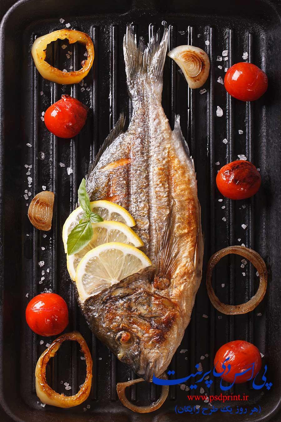 تصاویر ماهی سرخ شده