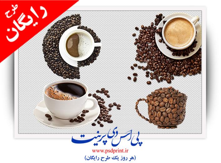 تصویر png قهوه