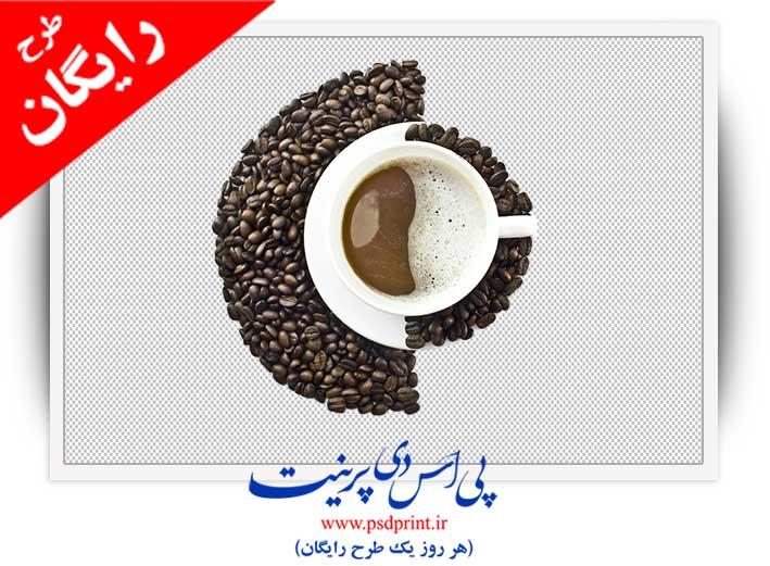 تصویر png فنجان قهوه