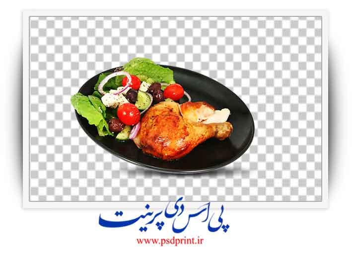 دوربری مرغ سوخاری