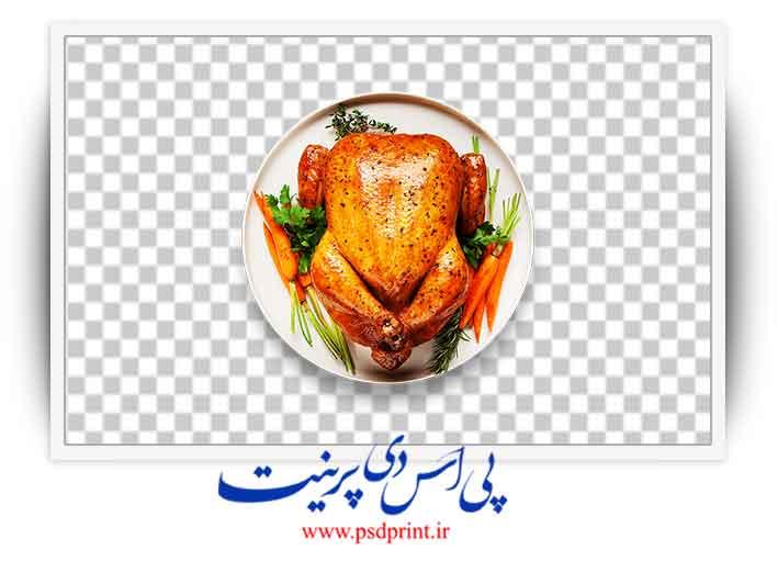 مرغ بریان png