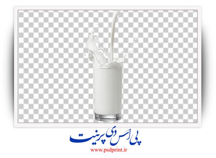 دوربری لیوان شیر
